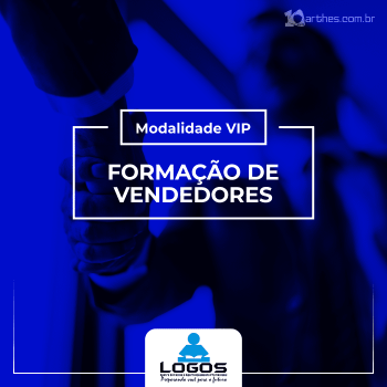 Formação de Vendedores – Modalidade VIP