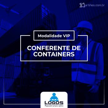 Conferente de Containers – Modalidade VIP