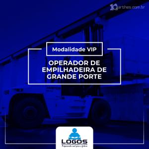 Operador de Empilhadeira Grande Porte – Modalidade VIP