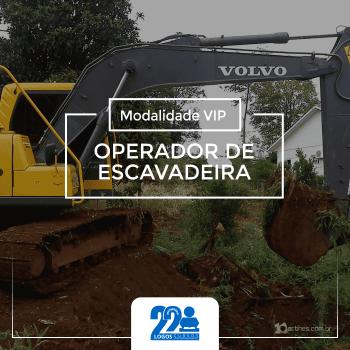 Operador de Escavadeira Hidráulica